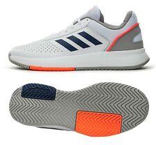 Adidas Men Courts-Mash Tennis Shoes White Gray Training Sneakers Shoe EG4375