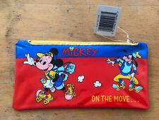 Mickey Mouse On The Move Walt Disney Pencil Case