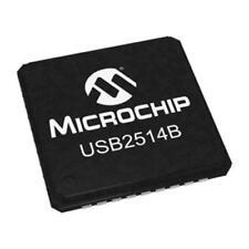 2 x Microchip USB 2.0 Hub Controller USB2514B-AEZC, 4-Port BC QFN36