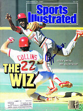 ST LOUIS CARDINALS OZZIE SMITH HAND SIGNED AUTOGRAPHED SPORTS ILLUSTRATED W/COA!