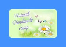 21  PERSONALISED GLOSSY  HAND MADE SOAP LABELS CRAFT SPA BEAUTY STICKERS