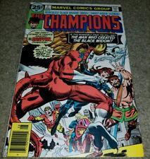 Marvel Comics Champions 7 VF 1st App Darkstar Commissar Yuri Bronze Book 8/76