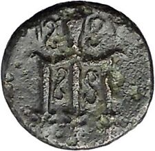 MYLASA in CARIA 210BC Horse Trident Authentic Original Ancient Greek Coin i47475