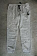 Hollister Men's Sweatpants Gray Black SIZE S NEW with LABEL