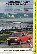 Publicité advertising 1983 Lada 1600