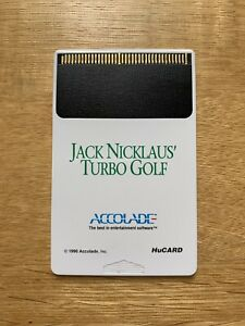 NEC Jack Nicklaus' Turbo Golf TurboGrafx 16 Original PC Engine Duo Express Grafx