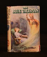 c1912 The Blue Talisman Fergus Hume Frontispiece Dustwrapper Very Scarce