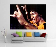 Bruce Lee Enter The Dragon jeu de la mort GIANT WALL ART PRINT POSTER h211