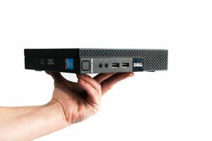 Dell OptiPlex 9020 Micro Tiny USFF PC i5-4590T/8GB RAM/500GB HDD/Wi-Fi
