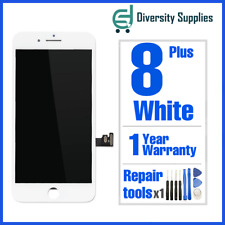 Apple iPhone 8 Plus White LCD Screen Digitizer Display Replacement 3D Touch OEM