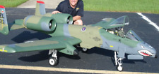 "A-10 Thunderbolt  ""WART HOG"" 99  inch  Scale RC Model AIrplane Printed Plans"