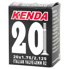CAMERA D'ARIA KENDA 20X1,75/2.125 VALVOLA ITALIA 40mm