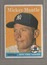 1958 TOPPS MICKEY MANTLE - Topps No 150  - New York Yankees
