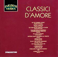 CD EMOZIONI IN MUSICA (De Agostini  IT 965/66) - CLASSICI D'AMORE