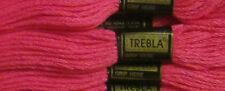 8 mts Trebla Embroidery Skeins Of Thread £4.50 Per Box Of 24 Colour Coral Pink