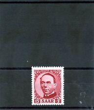 Saar Sc B74(Yt 269)*Vf Nh 1950 15F+5F Carmine $90