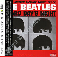 BEATLES A HARD DAY'S NIGHT (SOUNDTRACK) CD MINI LP OBI Harrison Lennon McCartney
