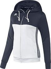 adidas T16 Ladies Sweatshirt Climalite Team Womens Sports Crew Neck Track Jumper Blue L