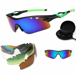 Polarized Cycling Sunglasses 5 Lens Men Women Sports Sun Glasses Outdoor Sports