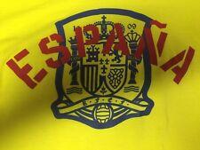 NWT Espana Spain Soccer Futbol Yellow ADIDAS Medium Ultimate T-Shirt