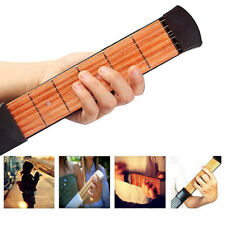 Pocket Acoustic  Chord Trainer  Guitar Practice Tool  String Fingerboard
