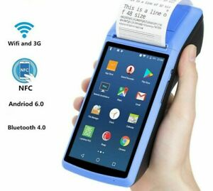 Bluetooth Receipt Printer 58mm Touch Screen Handheld POS WIFI 3G OTG Compositor