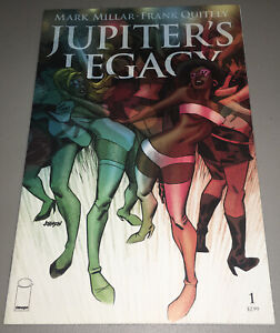 Jupiter's Legacy #1 Cover C Dave Johnson Variant 2013 Image Comics Netflix