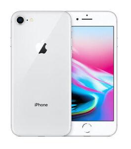 Apple iPhone 8 - 64GB - Silver (Unlocked) (CDMA + GSM) (AU Stock) Smartphone New