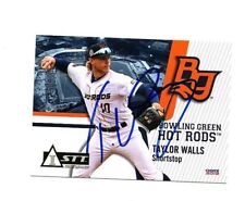 Taylor Walls 2018 Bowling Green Hot Rods autographed signed team set card FSU c