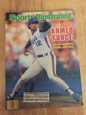 RON DARLING New York Mets Vintage Sports Illustrated August 25, 1986