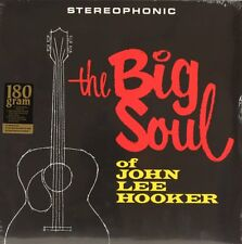 The Big Soul Of John Lee Hooker  JOHN LEE HOOKER Vinyl Record