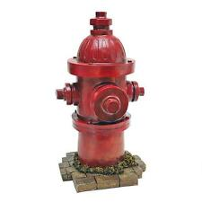 Realistic Modern Fire Hydrant Statue Puppy Dog Post Fire Plug Sculpture NEW