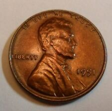 1951 P Lincoln Wheat Cent / Penny Coin   *FINE OR BETTER*   **FREE SHIPPING**