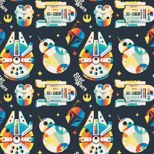 Star Wars Retro Brand New  100% cotton fabric