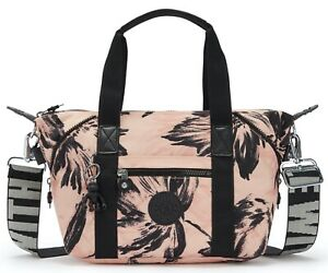 Kipling Art Mini Handbag - Coral Flower RRP £77
