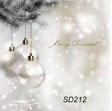 Christmas Dream Vinyl Photography Background Backdrop Studio Props 5X7FT SD212