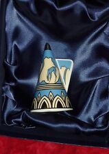Royal Worcester Candle Snuffer   'BLUE  GLADE'   Art Deco.  2001