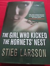 STIEG LARSSON - THE GIRL WHO KICKED THE HORNETS NEST 2009 1ST GB HB MACLEHOSE