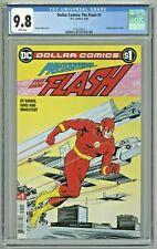 Dollar Comics The Flash #1 CGC 9.8 Reprint #1 1987 New Flash Guice Cover