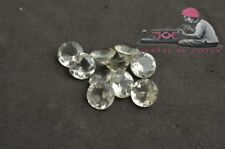 Natural Green Amethyst 9mm Round Faceted Cut 5 Pieces Loose Gemstone Lot