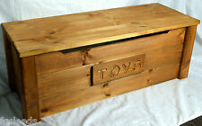 handmade wooden pine toy box GEORGIAN OAK