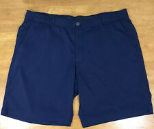 Under Armour Heat Gear Match Play Loose Fit Flat Front Golf Shorts Mens Sz 42x11