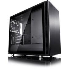 Fractal Design Define R6 Gehäuse Blackout TG | PC Gehäuse, Tempered Glass,