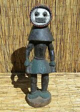 """African Baule Figure From Ivory Coast 31"""" Tall"""