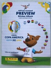 ALBUM COPA AMERICA 2021 EMPTY + SET COMPLETE 2021 400 STICKERS + 2 PACKETS