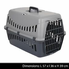 Gros pet carrier puppy chien chat chaton lapin voyage cage de transport carry panier