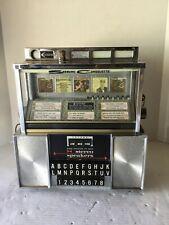 Vintage Seeburg Stereo Consolette Jukebox Wallbox With Original Key