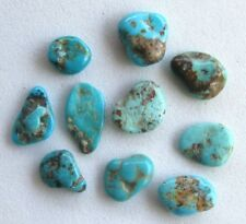10 pcs Elisa Mine Turquoise Natural Nuggets LOT Tumbled Rock Polished Gemstones