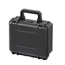 Herramienta De Cámara Impermeable Agua Apretado Engranaje cubierta rígida Caja MAX235H105 con espuma Negro