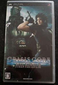 Final Fantasy VII Crisis Core Japanese Sony PsP